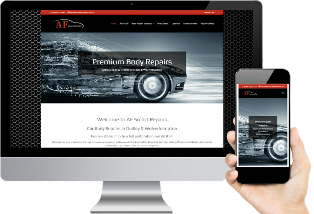 AF Smart Repairs Website